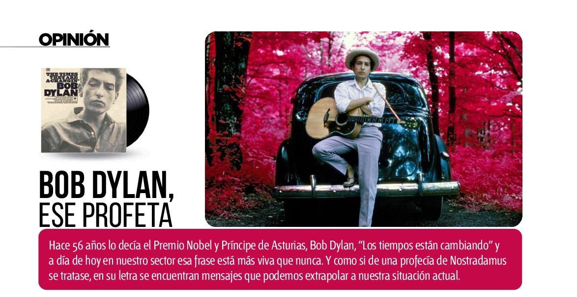 Bob Dylan, ese profeta de la posventa del automóvil